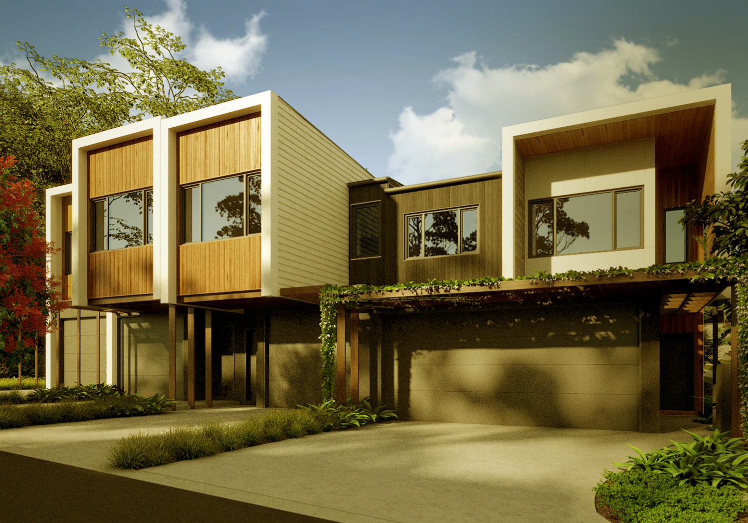 Banksia townhouse development